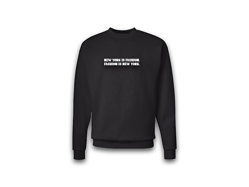 """NYF"" Sweater (Black)"