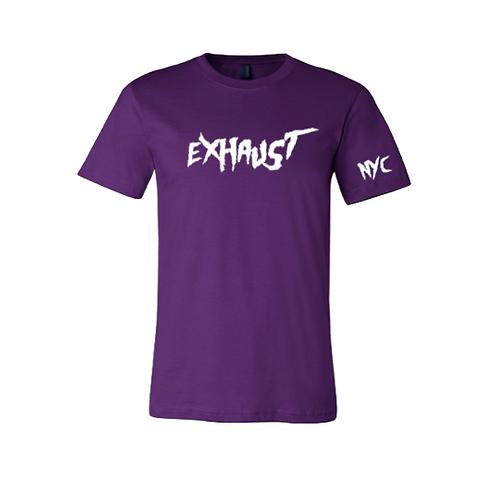 Exhaust Tee (Purple)
