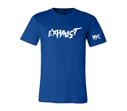 Exhaust Tee (Royal Blue)