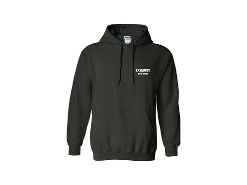 Exhaust Hoodie (Forest Green)