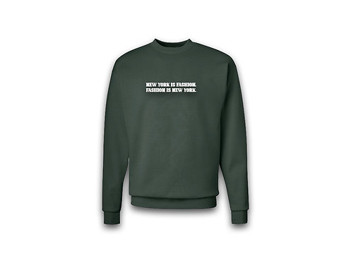 """""""NYF"""" Sweater (Olive Green)"""