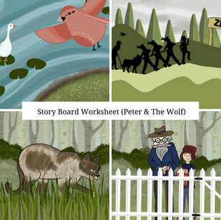 Peter and the Wolf Story Jumble