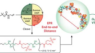 Synthesis and Solution-Phase Characterization of Sulfonated Oligothioetheramides