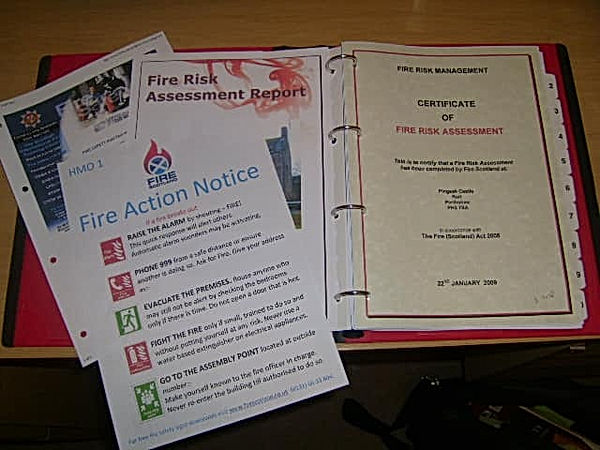 Fire Risk Assessment Scotland