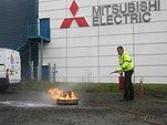 fire extinguisher training edinburgh practical fire extinguisher training glasgow live fire extinguisher training fife