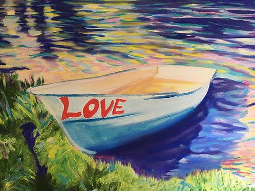 Love Boat print