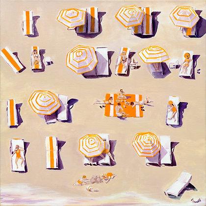 Orange Marmalade - Canvas Print