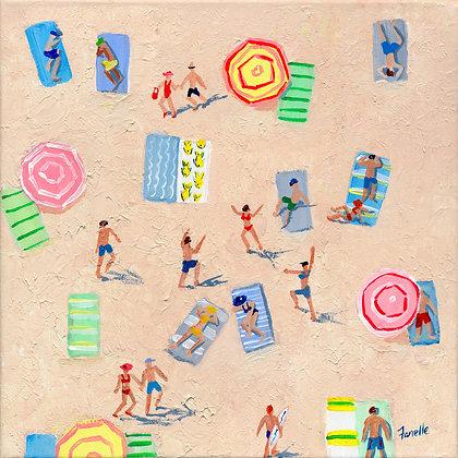 Beach Play 2 - Paper Print