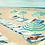 Thumbnail: Mint Beach 1 - Canvas Print