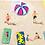 Thumbnail: Beach Play 3 - Paper Print