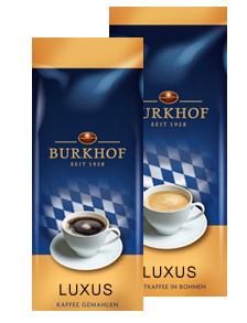 Burkhof Luxus ganze Bohne