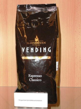 Espresso Classico JJ.Darboven ganze Bohne