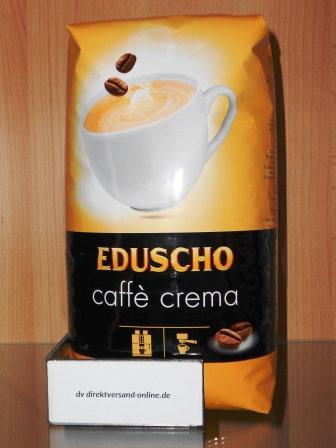 Eduscho Caffé Crema ganze Bohne