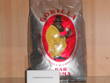 Joerges Espresso Gorilla Bar Crema