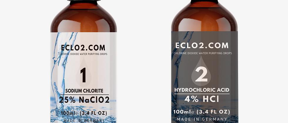 Dropper: Chlorine Dioxide Drops 30ml - 100ml