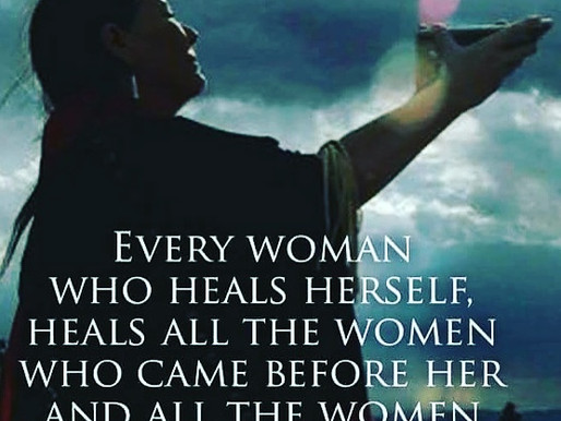 Ancestral Healing. Be the change.