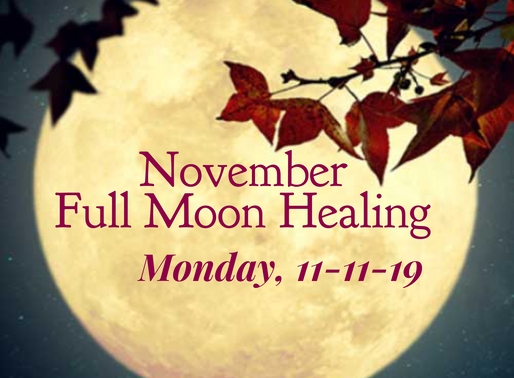11-11 Full Moon Energy Healing Transmission