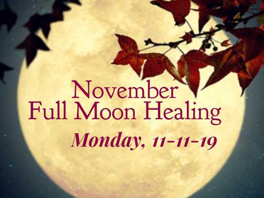 11-11 Full Moon Energy Healing Transmission