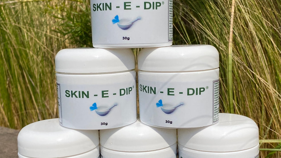 SKIN-E-DIP WHOLE SALE 6 SMALL JARS