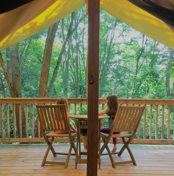 Safari Tent Balcony