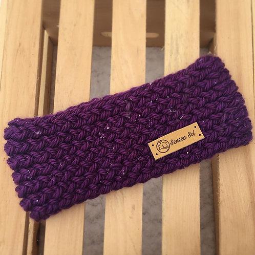 Bulky Concord Grape Headband