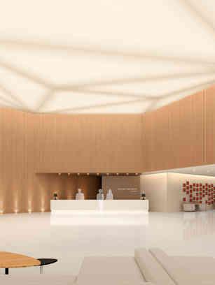 광주Holiday-Inn호텔 인테리어_lobby,restaurant