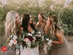 bridesmaids hair makeup and photogra