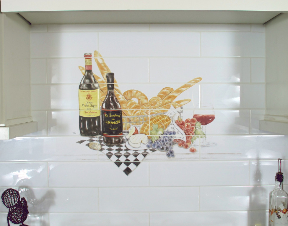 Wine and Bread Mural
