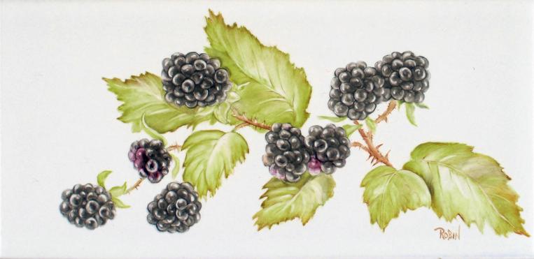 Blackberry Tile