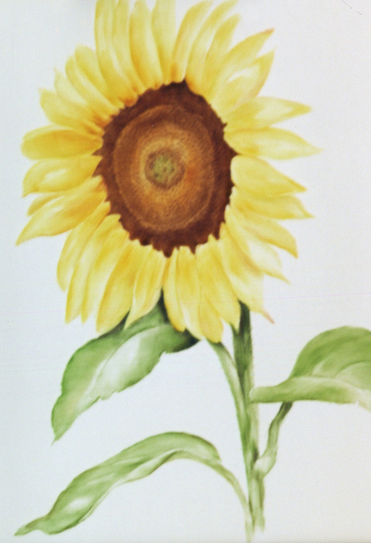 Bringing the outdoors in... Sunflower Decos