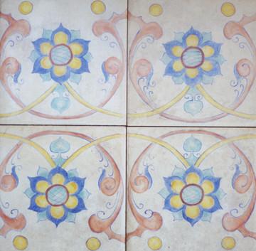 Accent Folk Art Tiles