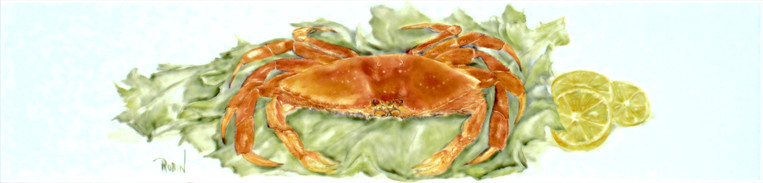 Dungeness Crab Tile