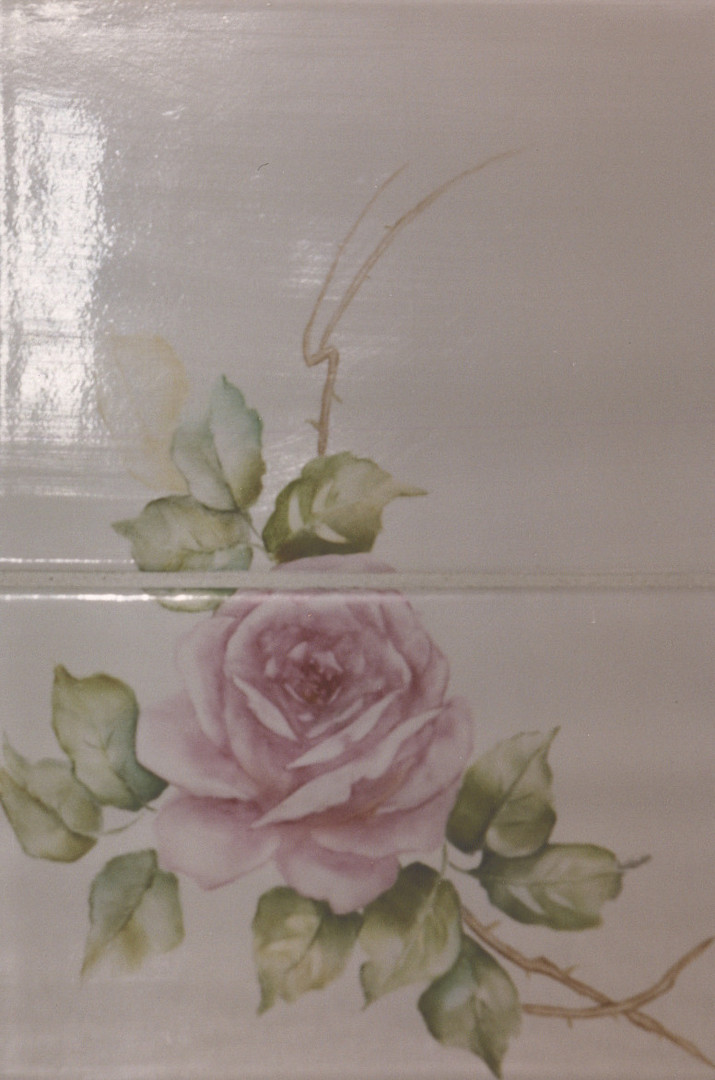 Accent Tiles Roses Flowers