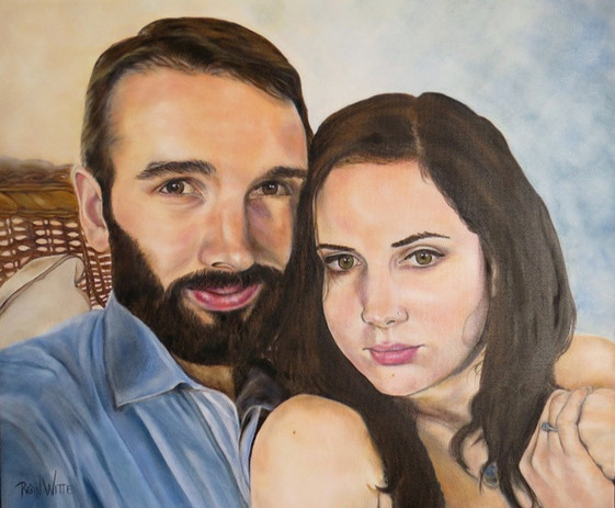 Togetherness Two Person Portrait