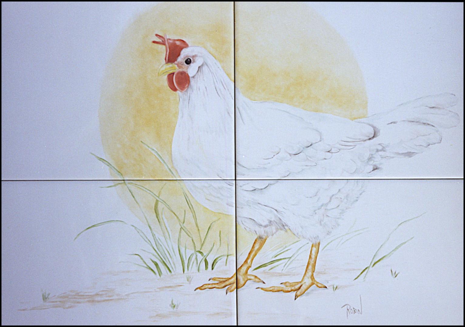 Chicken at Sunrise