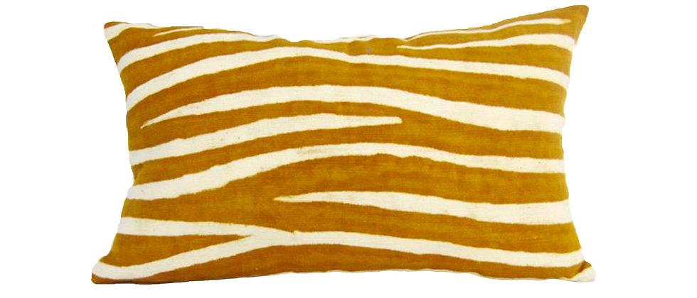 Housse de coussin 50 x 30 cm zèbre
