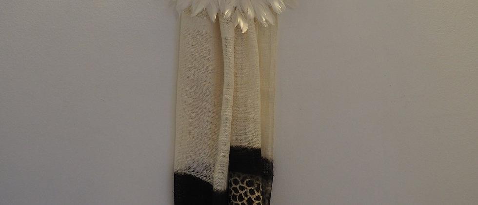Echarpe en coton biologique girafe