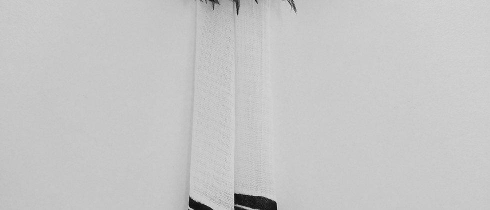 Echarpe en coton biologique Zèbre