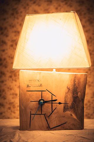 Naturabois.be | Lampe horloge