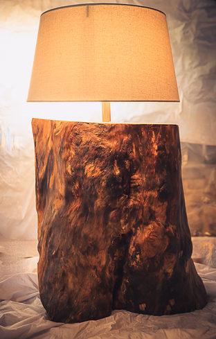 Naturabois.be   Lampe liège - grande taille