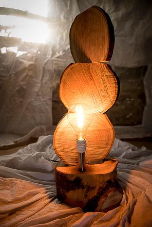 Naturabois.be   Lampe 3 ronds triangle de K