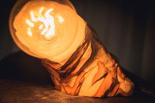 Naturabois.be | Lampe sculptée