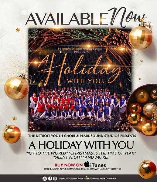 A Holiday With You Album Cover
