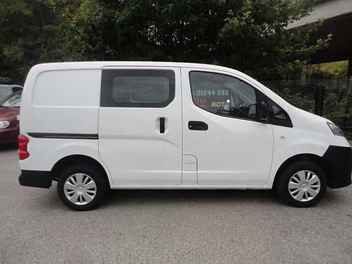 Nissan NV200 1.5TD Acenta Panel Van 7995+VAT