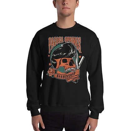 PSBS Skull and Blade Unisex Sweatshirt Front Only