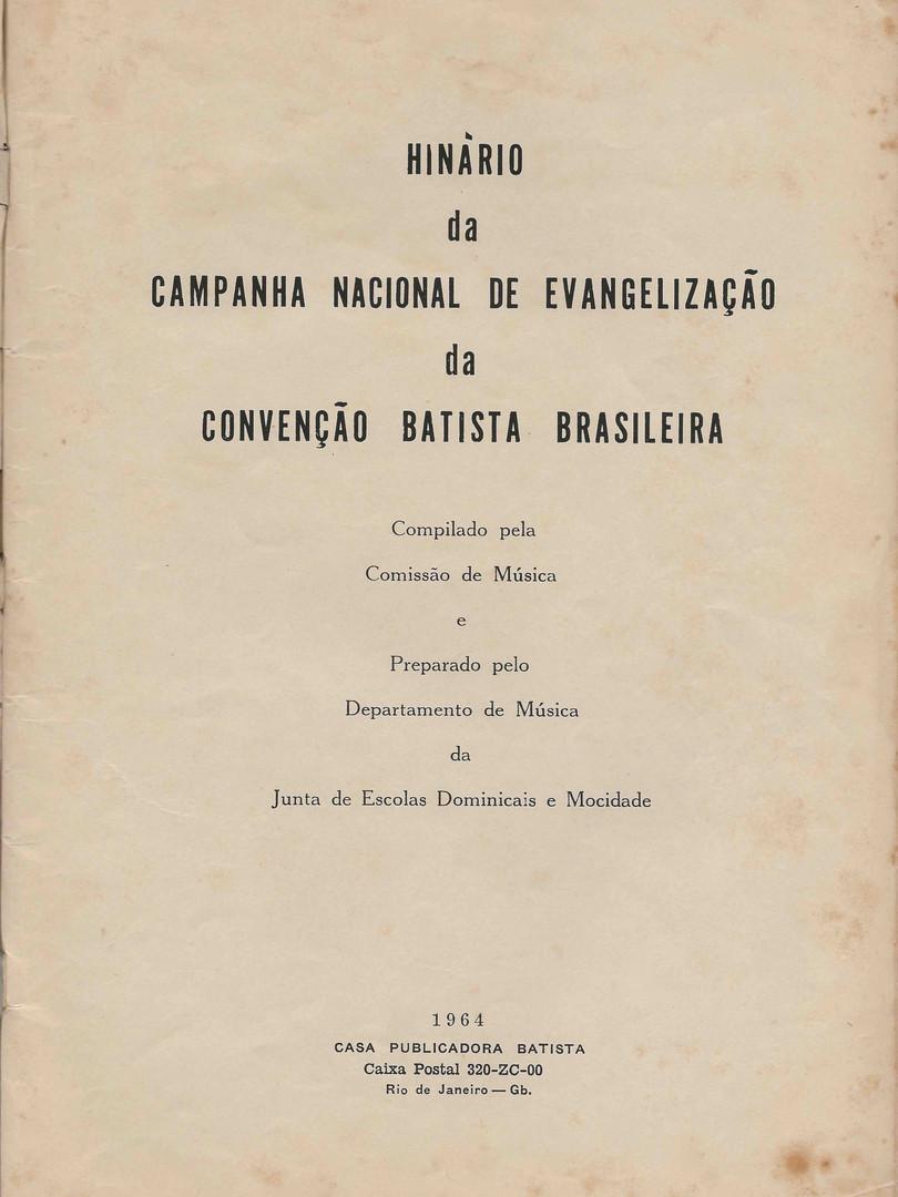 Hinário da Campanha Nacional de Evangelização 1964