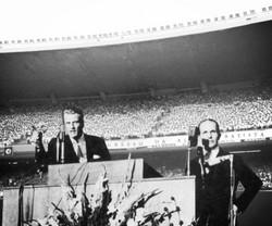 Pastores Billy Grahan e João Soren
