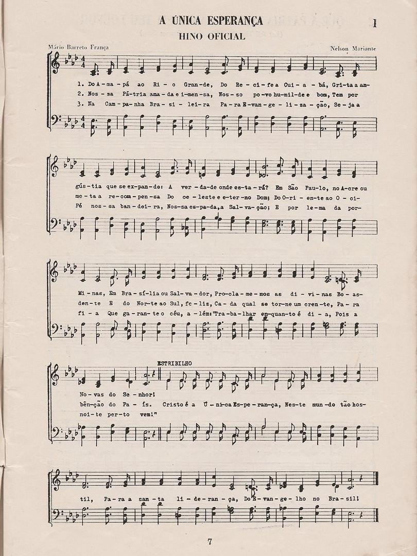 """""""Cristo é a única esperança"""" Primeira edição, 1964"""