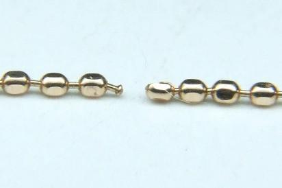 K10ピンクゴールド ネックレス 修理