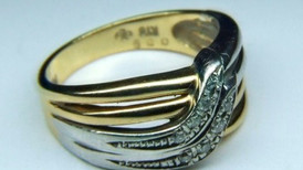 PTK18ダイヤモンド指輪 サイズ直し